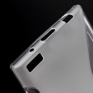 S-line gélový obal pre mobil BlackBerry Leap - transparentný - 4