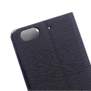 Peněženkové pouzdro na mobil Honor 4C - černé - 4