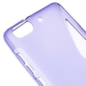 S-line gélový obal pre mobil Honor 4C - fialový - 4