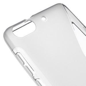 S-line gélový obal pre mobil Honor 4C - šedý - 4