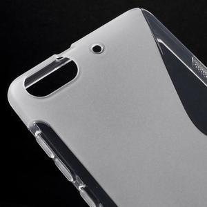 S-line gelový obal na mobil Honor 4C - transparentní - 4