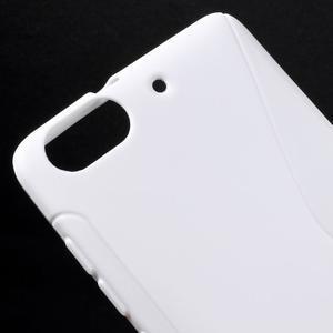 S-line gélový obal pre mobil Honor 4C - biely - 4