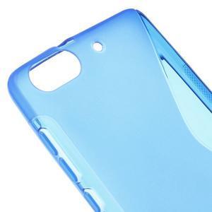 S-line gelový obal na mobil Honor 4C - modrý - 4