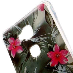 Drop gelový obal na Huawei Honor 5X - květiny - 4