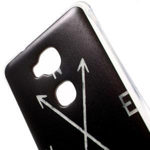Drop gelový obal na Huawei Honor 5X - světové strany - 4