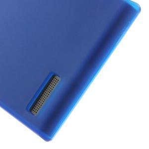 Matné gélové puzdro na Huawei Ascned G6 - modré - 4