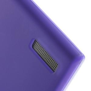 Matné gélové puzdro na Huawei Ascned G6 - fialové - 4
