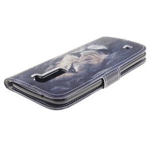 Peněženkové pouzdro na mobil LG K10 - lev - 4