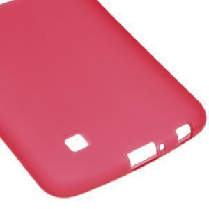 Matný gelový kryt na LG K10 - červený - 4