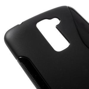 S-line gélový obal pre mobil LG K10 - čierny - 4
