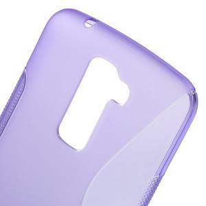 S-line gelový obal na mobil LG K10 - fialový - 4