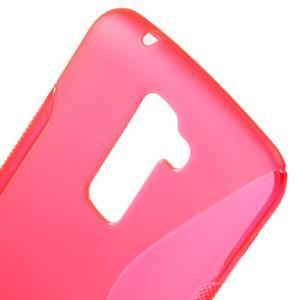 S-line gélový obal pre mobil LG K10 - rose - 4
