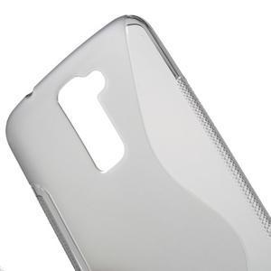 S-line gélový obal pre mobil LG K10 - sivý - 4