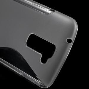 S-line gélový obal pre mobil LG K10 - transparentný - 4