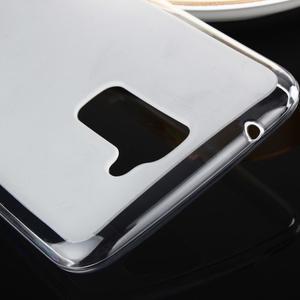 Stter matný gélový obal pre mobil LG K10 - biely - 4