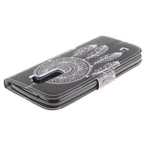 Peňaženkové puzdro pre mobil LG K10 - lapač snov - 4