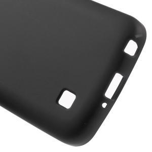 Antfing matný gélový kryt pre LG K4 - čierny - 4