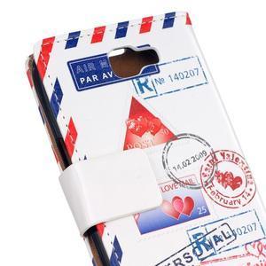 Style peňaženkové puzdro pre LG K4 - mail - 4