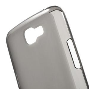 Matný gélový obal pre mobil LG K4 - sivé - 4