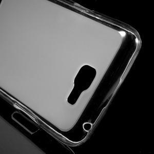 Matný gélový obal pre mobil LG K4 - biele - 4