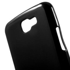 Matný gélový obal pre mobil LG K4 - čierne - 4