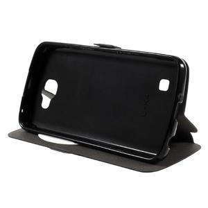 Trend puzdro s okienkom na mobil LG K4 - čierne - 4