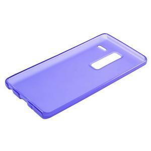 Matný gélový obal pre mobil LG Zero - fialový - 4