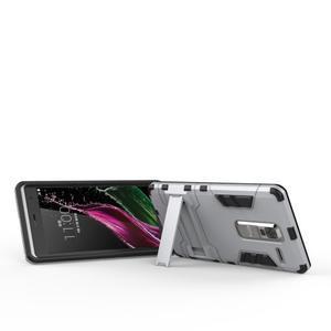 Outdoor odolný kryt pre mobil LG Zero - strieborny - 4