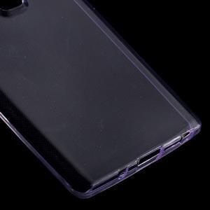 Ultratenký slim gélový obal pre LG Zero - fialový - 4