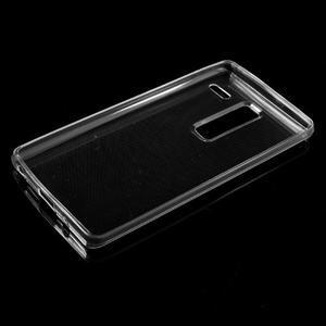 Ultratenký slim gélový obal pre LG Zero - transparentný - 4