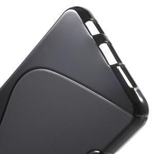 S-line gélové obal na mobil Samsung Galaxy A3 (2016) - čierný - 4