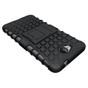 Outdoor odolný obal pre mobil Microsoft Lumia 650 - čierný - 4