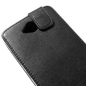 Flipové puzdro na mobil Microsoft Lumia 650 - čierné - 4
