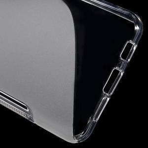 S-line gélové obal pre mobil Samsung Galaxy A3 (2016) - transparentný - 4