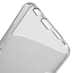 S-line gélové obal pre mobil Samsung Galaxy A3 (2016) - šedý - 4