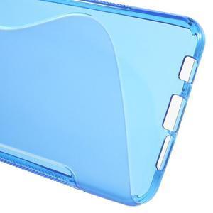 S-line gélové obal pre mobil Samsung Galaxy A3 (2016) - modrý - 4