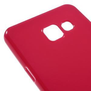 Gélový obal pre mobil Samsung Galaxy A3 (2016) - červený - 4