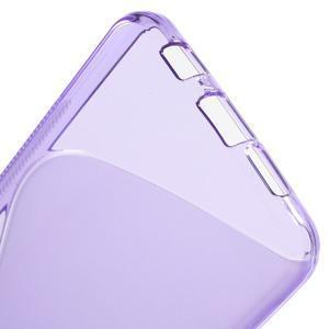 S-line gélové obal na mobil Samsung Galaxy A3 (2016) - fialový - 4