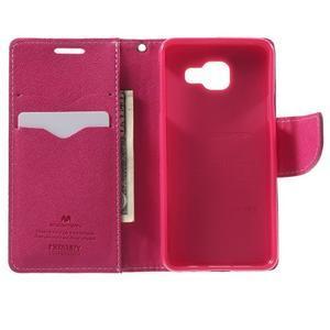 Goospery peňaženkové puzdro na Samsung Galaxy A3 (2016) - růžové - 4