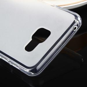 Matný gélový obal pre Samsung Galaxy A3 (2016) - biely - 4