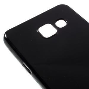 Gélový obal pre mobil Samsung Galaxy A3 (2016) - čierný - 4