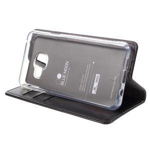 Mercury peňaženkové puzdro pre Samsung Galaxy A3 (2016) - čierné - 4