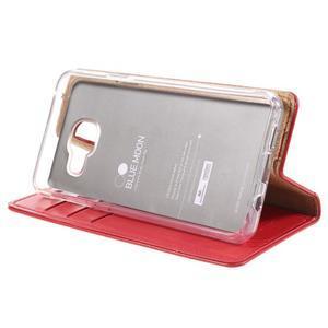 Mercury peňaženkové puzdro pre Samsung Galaxy A3 (2016) - červené - 4