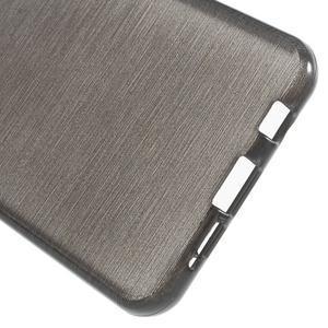 Gélový obal s motivem broušení na Samsung Galaxy A3 (2016) - čierný - 4