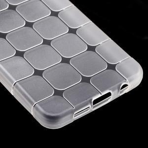 Cube gélový obal pre mobil Samsung Galaxy A3 (2016) - transparentný - 4