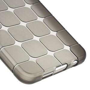 Cube gélový obal na mobil Samsung Galaxy A3 (2016) - šedý - 4