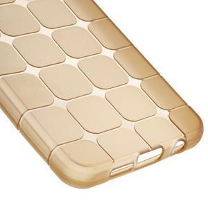 Cube gélový obal na mobil Samsung Galaxy A3 (2016) - zlatý - 4