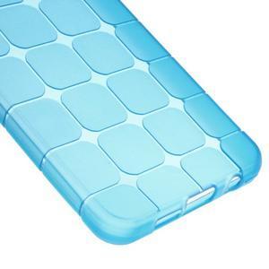 Cube gélový obal pre mobil Samsung Galaxy A3 (2016) - modrý - 4