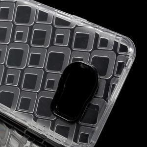 Square gélový obal na mobil Samsung Galaxy A3 (2016) - transparentný - 4