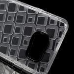 Square gélový obal na mobil Samsung Galaxy A3 (2016) - transparentný - 4/5